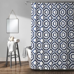 Best Reviews Drouin Octagon Shower Curtain ByCorrigan Studio