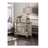 Jacey 2 Drawer Nightstand by Rosdorf Park