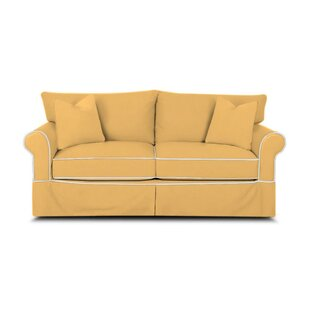 Jameson Sleeper Sofa With Contrast Welt