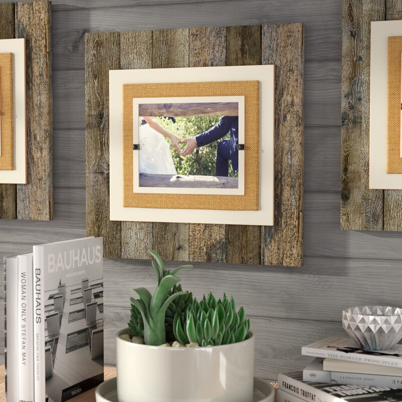 union rustic brayan extra large single picture frame reviews wayfair