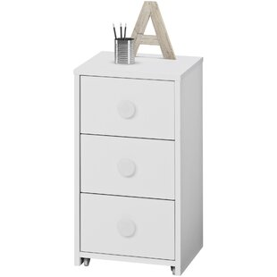 Josephine 68cm H X 37cm W Desk File Pedestal By Mercury Row