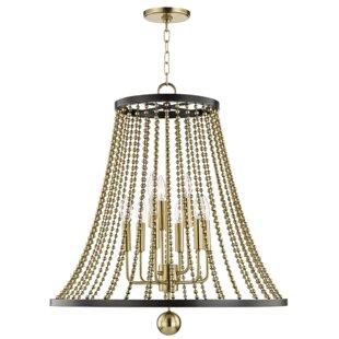 Rosdorf Park Wakeham 9-Light Lantern Pendant