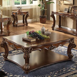 Welles Traditional Coffee Table by Astoria Grand SKU:DB187390 Buy