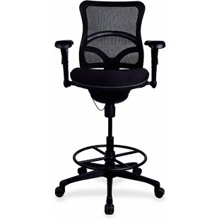 Read Reviews Mid-Back Mesh Drafting Chair by Lorell Reviews (2019) & Buyer's Guide