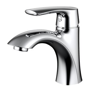Single hole Single Handle Bathroom Faucet with Drain Assembly