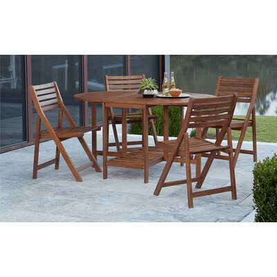 Fairmead 5 Piece Dining Set by Bay Isle Home Great Reviews