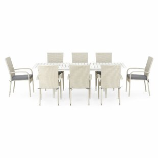 Jolyon 8 Seater Dining Set With Cushions By Sol 72 Outdoor