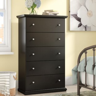 Petersfield 5 Drawer Chest by Three Posts