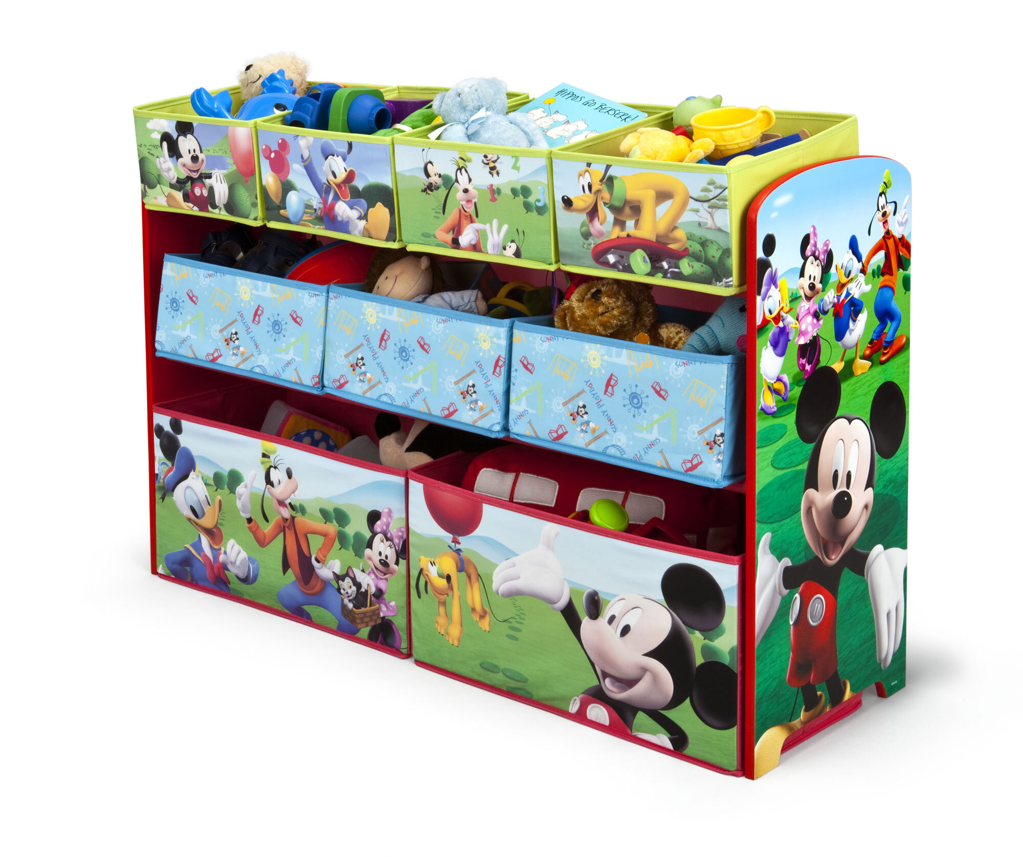 Delta Children Disney Mickey Mouse Toy Organizer Reviews Wayfair