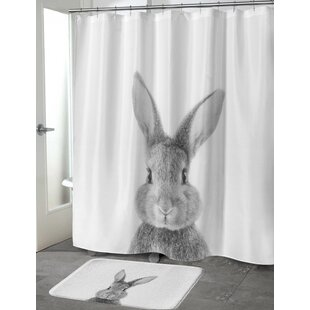 Bunny Single Shower Curtain
