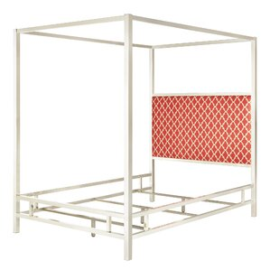 Chattel Upholstered Canopy Bed by Mercer41