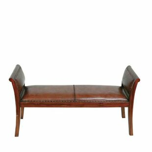 Leather Bench by Eichholtz