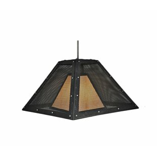 Clearance Rogue River 1-Light Outdoor Pendant By Steel Partners