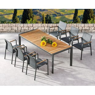 Laub 6 Seater Dining Set By Sol 72 Outdoor