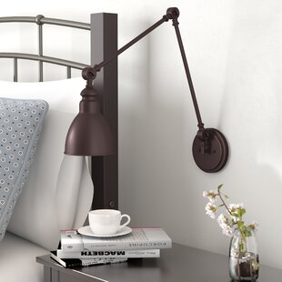 Three Posts Gardenhire Swing Arm Lamp