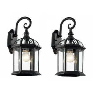 Ramirez Outdoor Wall Lantern (Set of 2)
