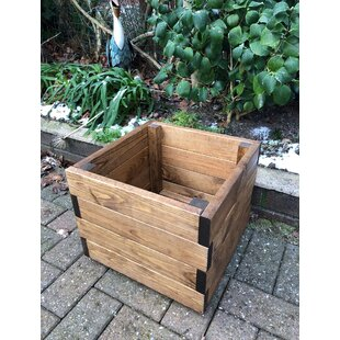 Darrin Wooden Planter Box By Alpen Home