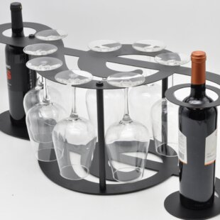 Grenshaw Music Symbol 2 Bottle Tabletop W..