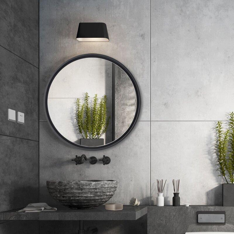 Latitude Run Wysong Modern Contemporary Bathroom Mirror Reviews Wayfair