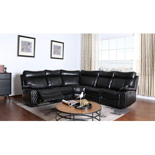 Top Bakken Reclining Sectional by Winston Porter Reviews (2019) & Buyer's Guide