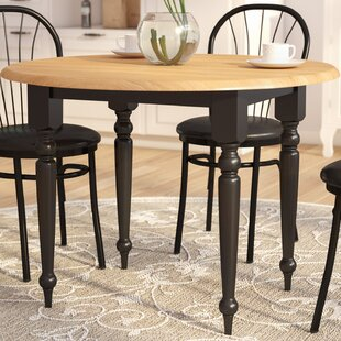 Belle Haven Double Drop Leaf Dining Table by Andover Mills Herry Up