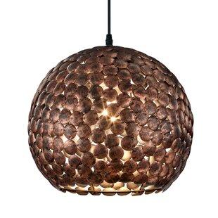 Abou 1-Light Globe Pendant..