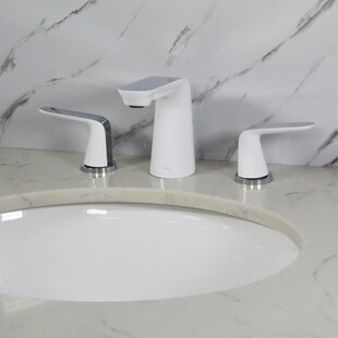 White Bathroom Sink Faucets
