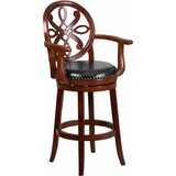 Rouillard Bar & Counter Swivel Stool by Astoria Grand