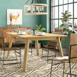 Union Rustic Caterina Solid Wood Dining T..