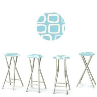 It's A Boy 30'' Patio Bar Stool (Set of 4)