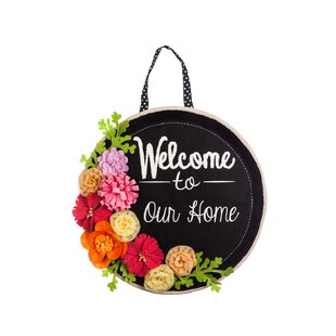Limones Springtime Welcome Wall D?cor by Red Barrel Studio