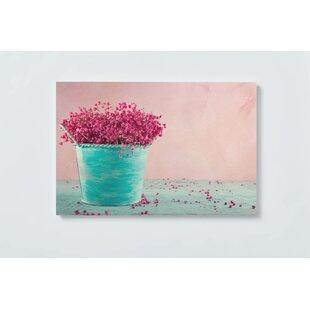 Shabby Flower Magnetic Wall Mounted Cork Board By Ebern Designs