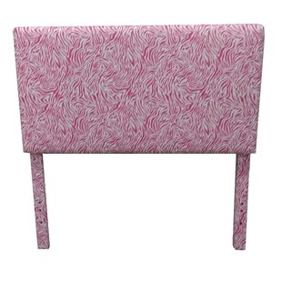 Bromyard Zebra Upholstered Headboard by Harriet Bee
