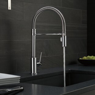 Trinsic Pull Down Single Handle Kitchen Faucet with MagnaTite® Docking and Diamond Seal Technology
