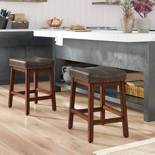 Irving 24 Bar Stool (Set of 2) by Birch Lane™ Heritage