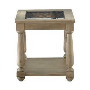 Basco End Table by Fleur De Li..