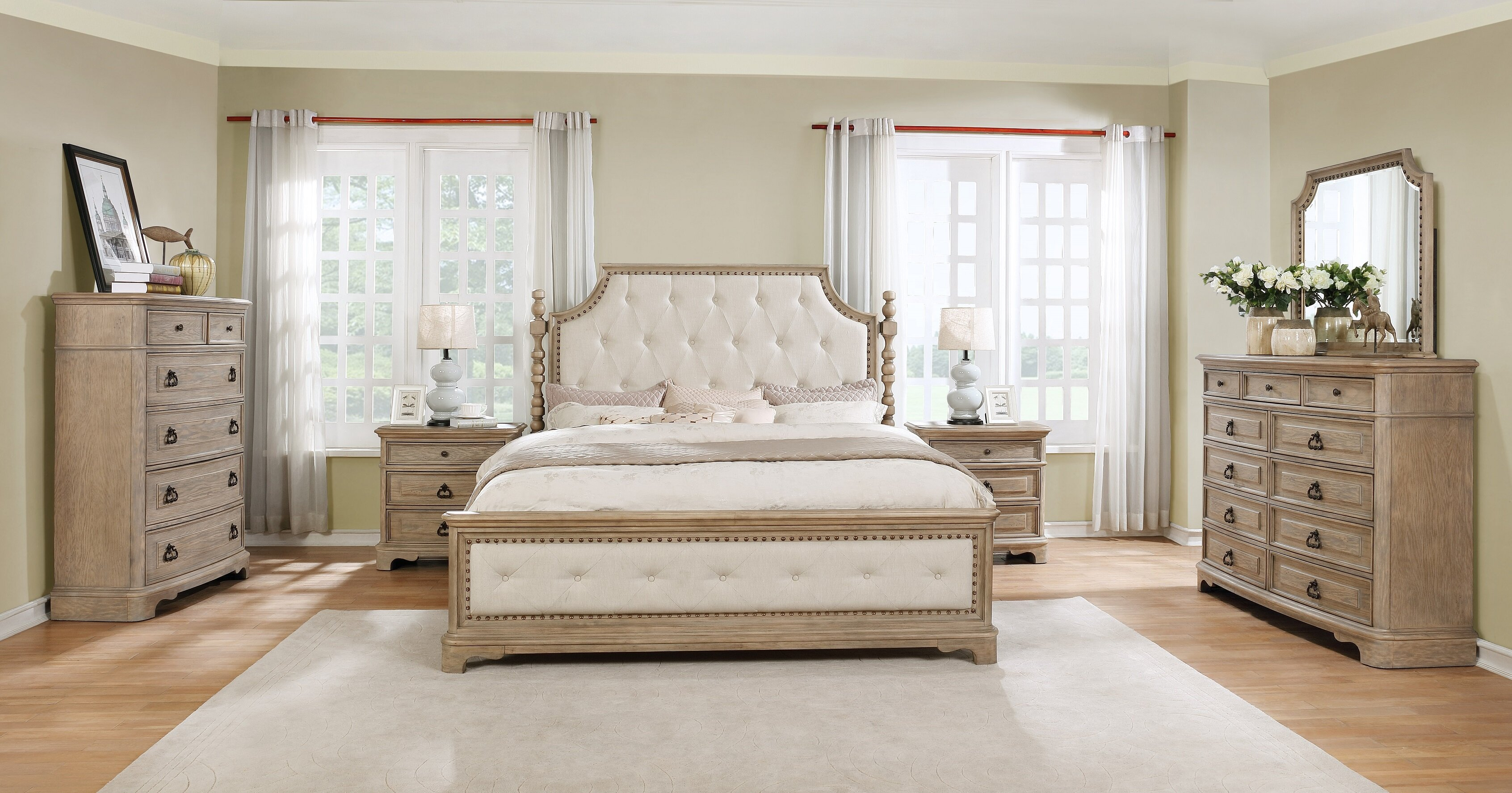 Frith Twin 6 Piece Bedroom Set