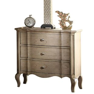 Dante 3 Drawer Nightstand