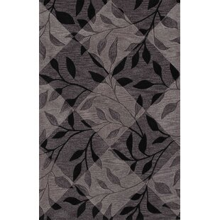 Reviews Bryant Black Checked Area Rug By Red Barrel Studio