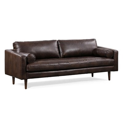Distressed Leather Sofas You Ll Love In 2020 Wayfair
