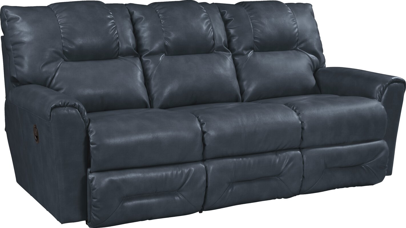 Merveilleux Easton Leather Reclining Sofa