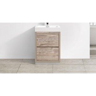 Save To Idea Board. Wade Logan. Malakai Free Standing Modern Bathroom Vanity