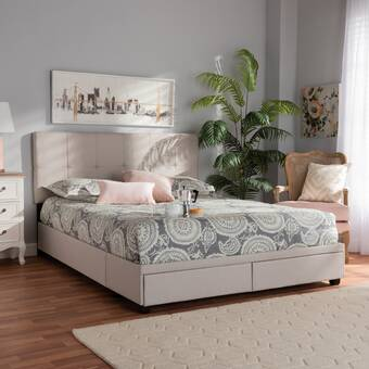 Loon Peak Andi Storage Platform Bed Wayfair