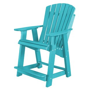 Patricia Plastic Adirondack Chair by Rosecliff Heights Coupon