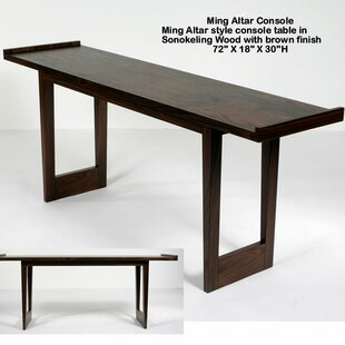 Indo Puri Ming Altar Console Table
