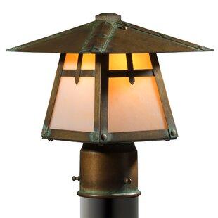 Millwood Pines Kody Arrow Post Mount 1-Light Lantern Head