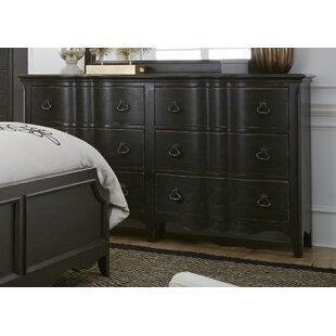 Claybrooks 6 Drawer Double Dresser by Gracie Oaks