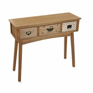 Garnich 3 Drawer Console Table By Latitude Vive