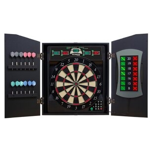 Cricketmaxx 5.0 Dartboard Cabinet Set by Arachnid
