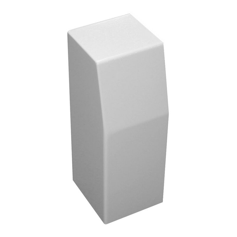Baseboarders Premium Series Steel Easy Slip On Baseboard Heater Cover Left Side Closed End Cap Wayfair